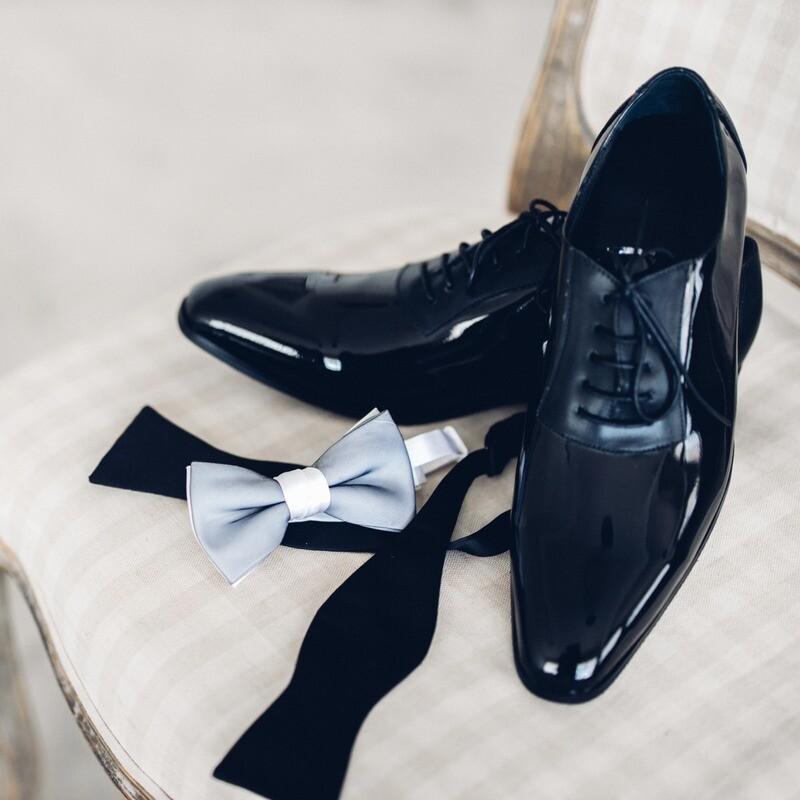 黑色禮服皮鞋
