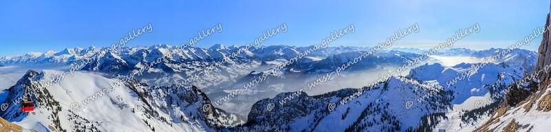 Berner Alpen Alpenpanorama Stockhorn