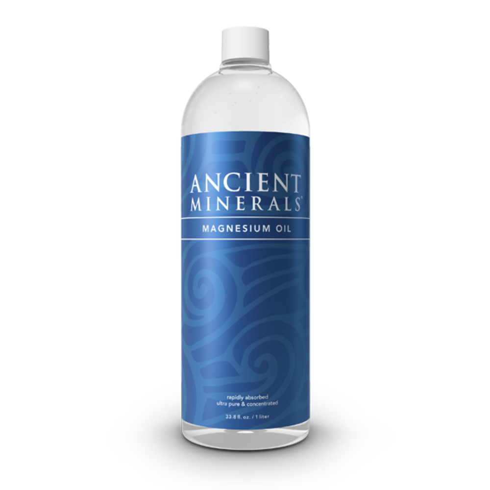 Ancient Minerals Magnesium Oil - 1 Ltr Full Strength