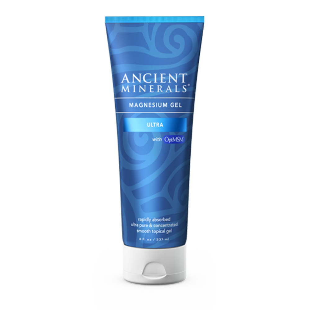 Ancient Minerals Magnesium Gel Ultra with Optimsm - 237 ml