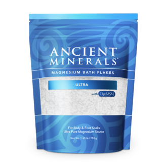 Ancient Minerals Bath Flakes Ultra with OptiMSM - 750g