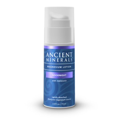 Ancient Minerals Magnesium Lotion Goodnight with Melatonin (75 ml)