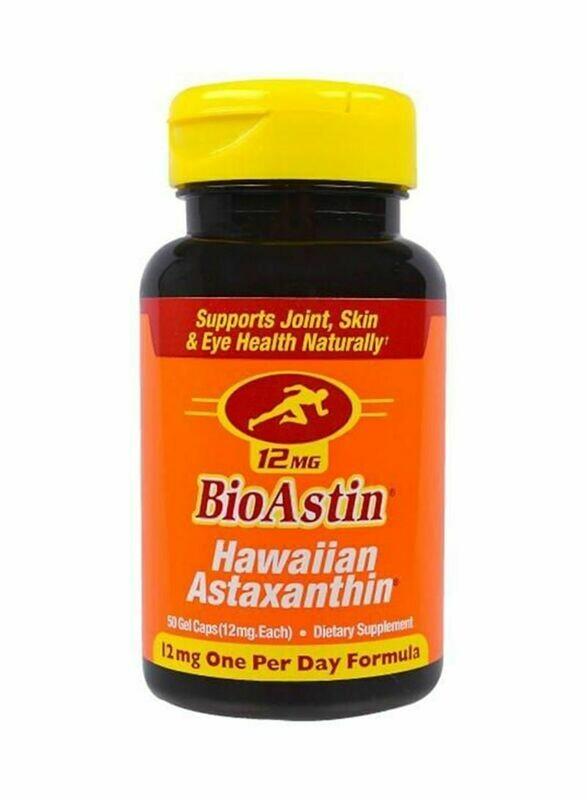 BioAstin - Hawaiian Astaxanthin 12mg One per day