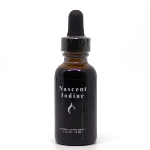 Nascent Iodine -30mls / 600drops