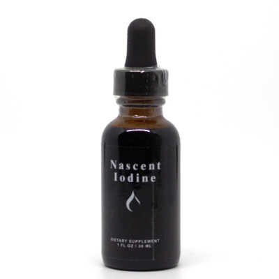 Nascent Iodine -30mls / 600 drops
