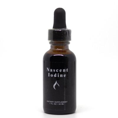 Nascent Iodine -30mls / 600 drops