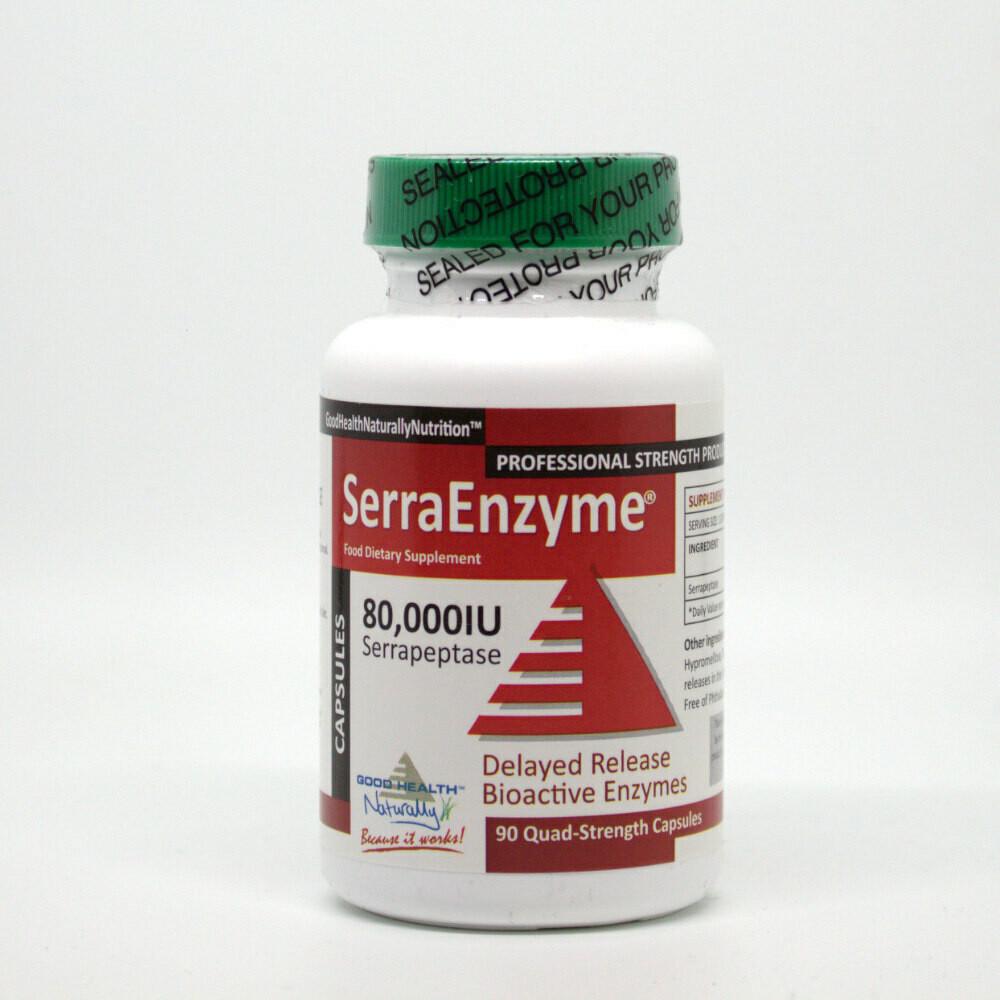 Serra Enzyme 80,000iu (3 Bottle Special)