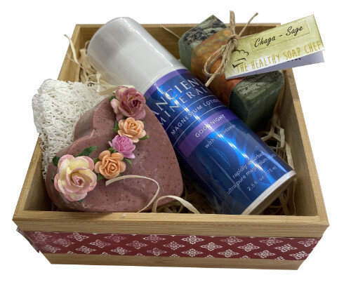 Magnesium Soap Box Gift Pack 3