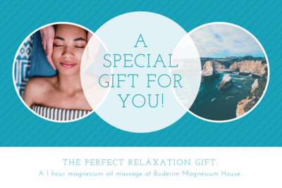 Magnesium Oil Massage Voucher