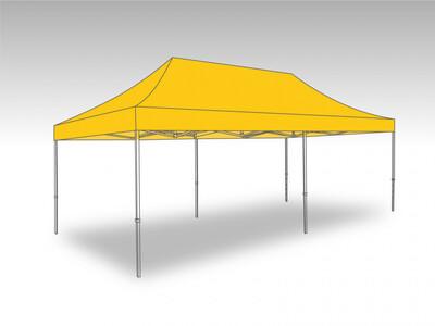 Tonnelle Pliante Alu - Bache polyester 3.0 x 6.0 m