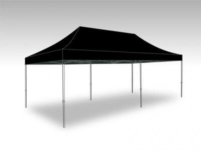 Tonnelle Pliante Acier - Bache polyester 3.0 x 6.0 m