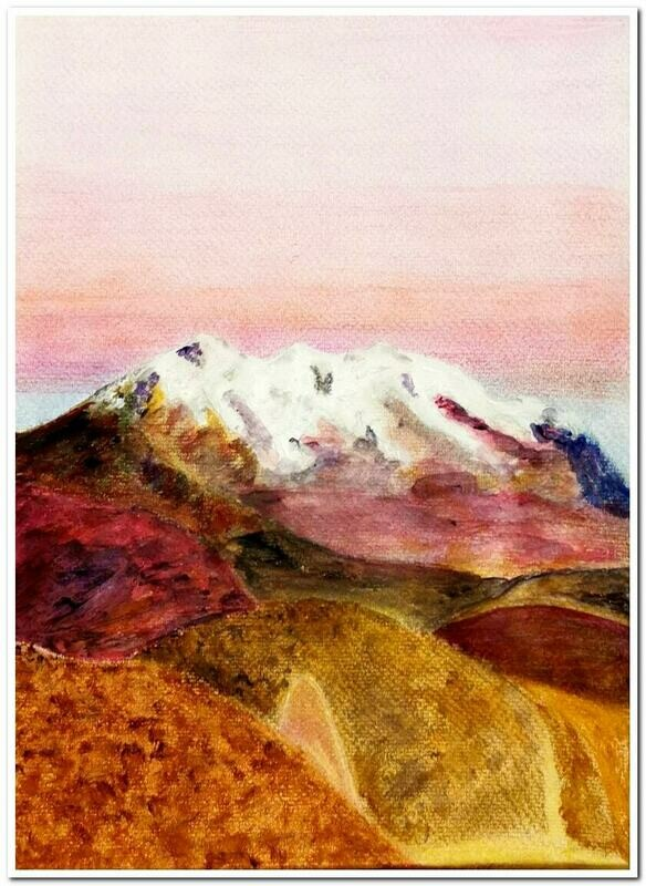 Illimani - Bolivia