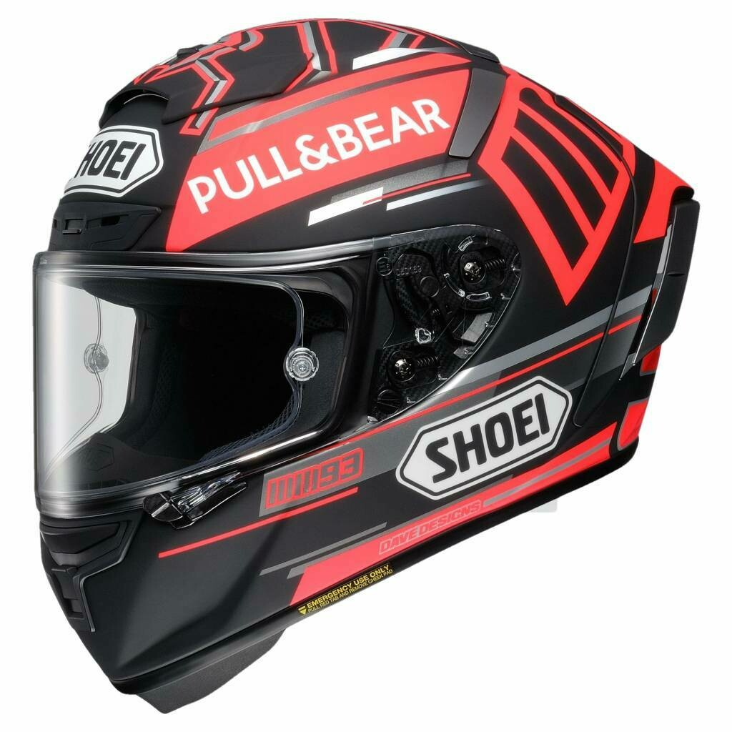 קסדה מלאה SHOEI X-Spirit 3 Marquez Black Concept TC-1