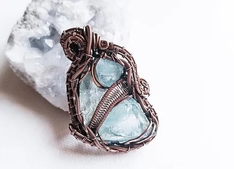 Aspera Aqua Pendant