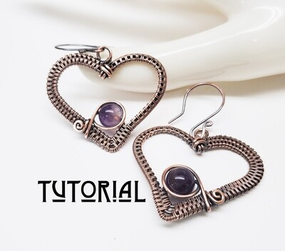 Sweethearts Earring Tutorial