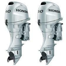 Abgaswartung 30 bis 60 PS für Honda und Yamaha
