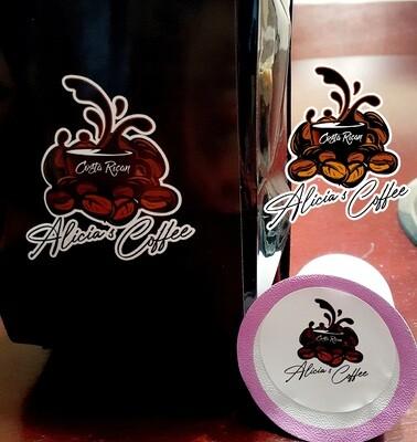 Costa Rican-Keurig Cups- Caffeinated- 12pack