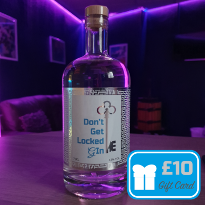 Don't Get Locked Gin + Gift Voucher Offer