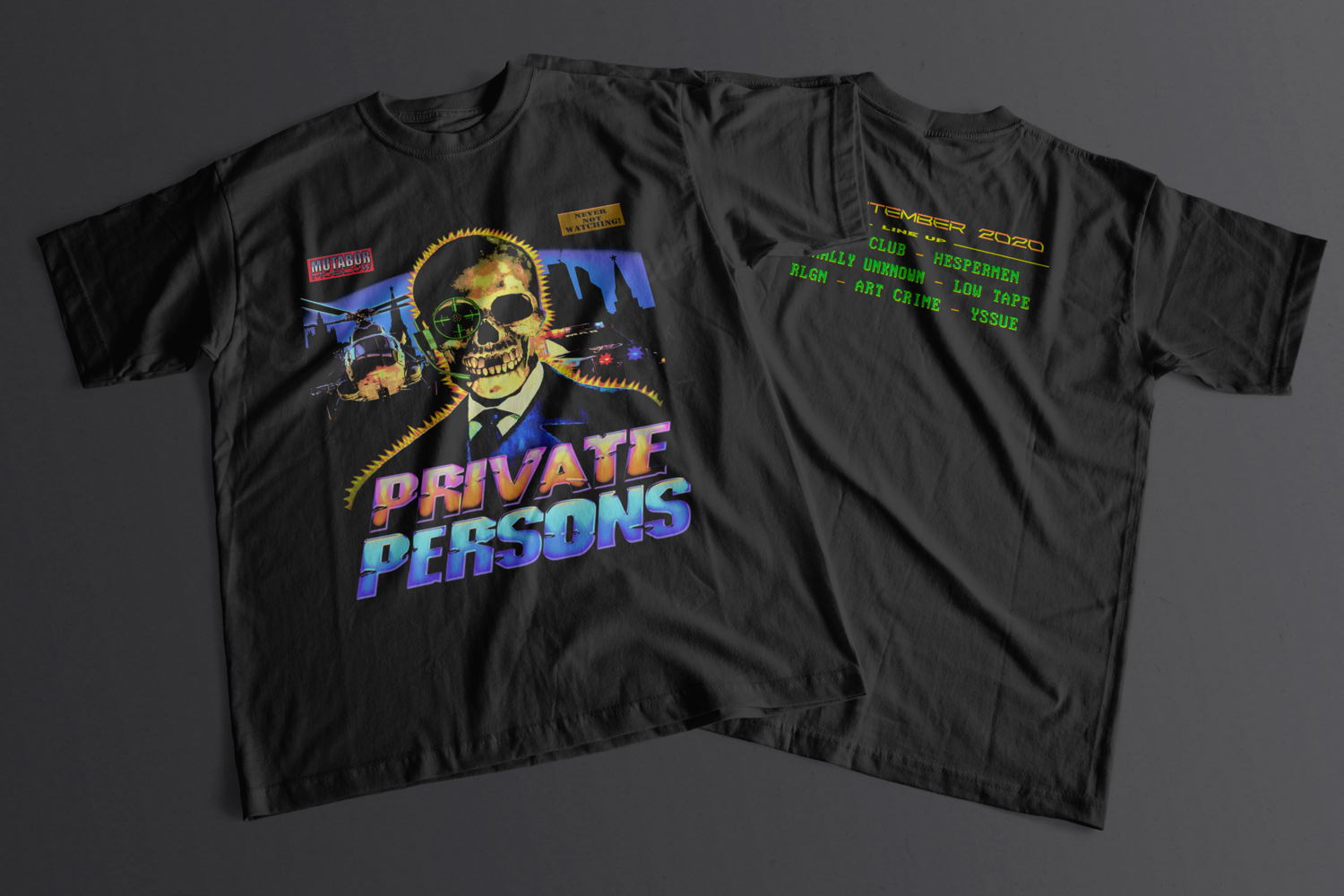 """PRIVATE PERSONS x MUTABOR"" TEE"