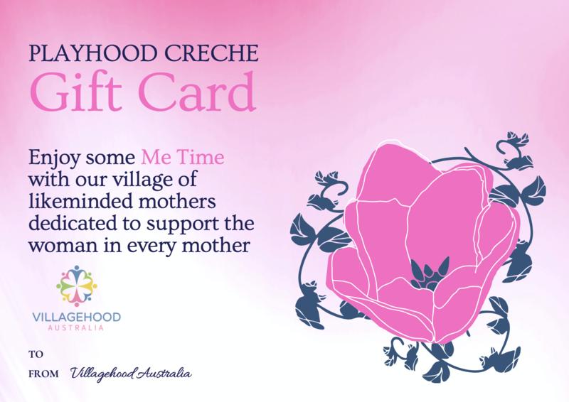 Playhood Creche Gift Card