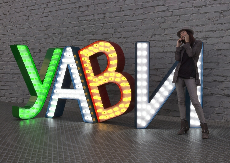 Объёмные отдельно стоящие буквы