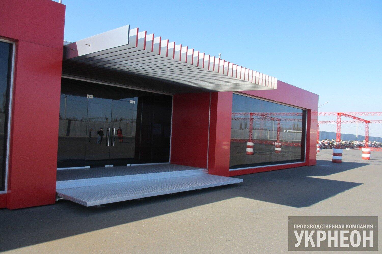 Алюминиевая фасадная панель