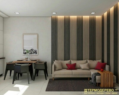 Стеновая рейка термососна
