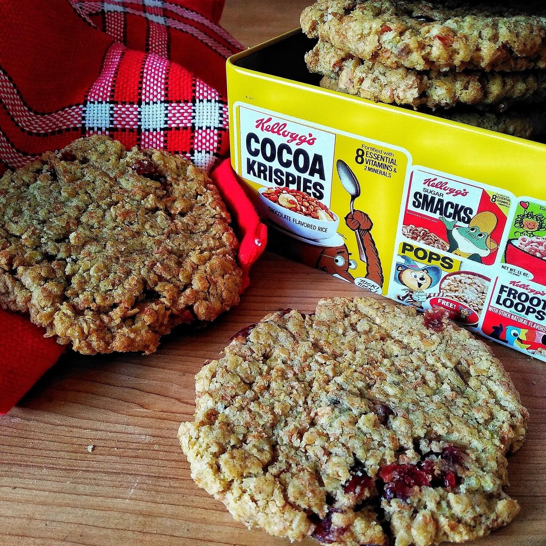 Cookie Avoine - Raisins - Pommes - Cranberries