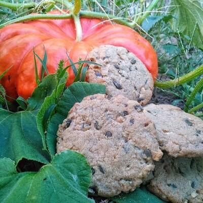 Cookie Cacahuètes - Épices de Noël - Graines de Courge