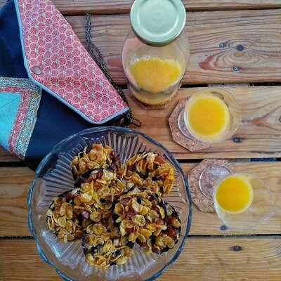 Florentin Corn Flakes - Abricots
