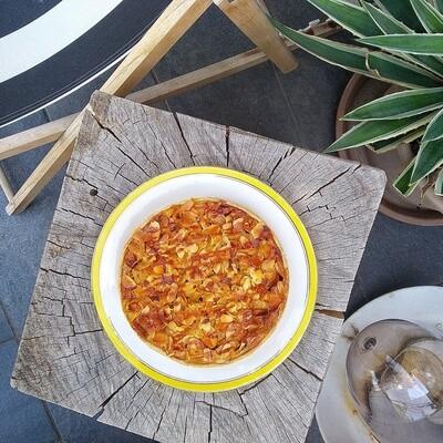 Tarte Pomme - Caramel - Cacahuète 6 personnes