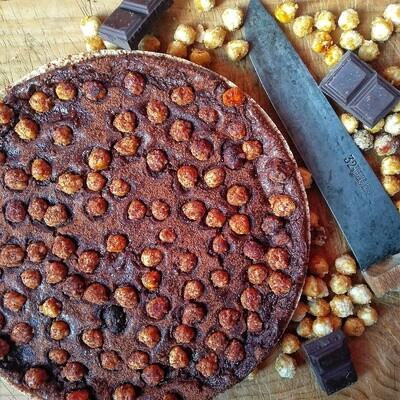 Flan Chocolat 70% - Noisettes 8 personnes