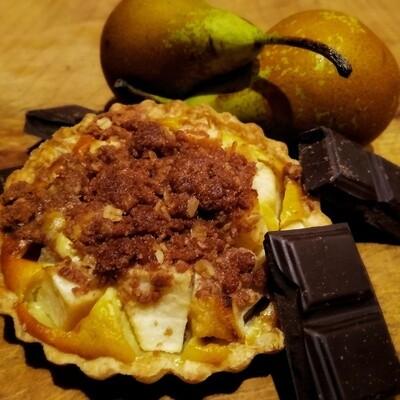 Tartelette Poire - Chocolat