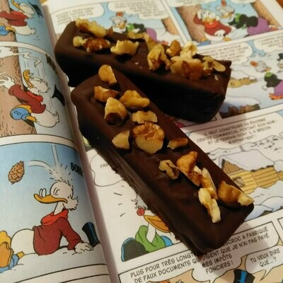 Barre Brownie - Caramel
