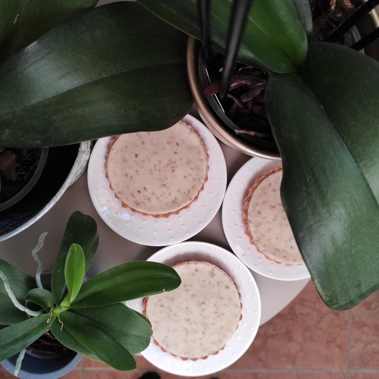 Tartelette Marron - Pâte d'amande Sésame