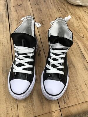 Sneaker plataforma polipiel