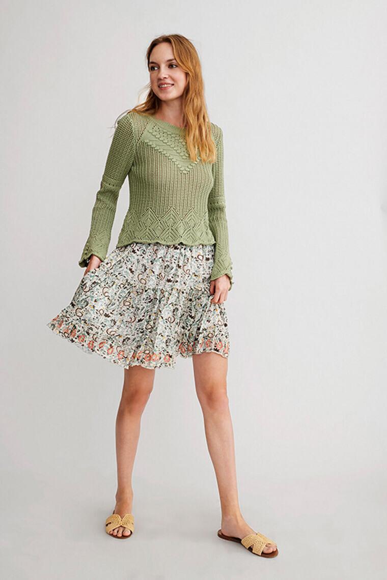 Falda corta bubi