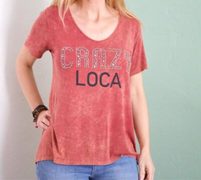 Camiseta crazy
