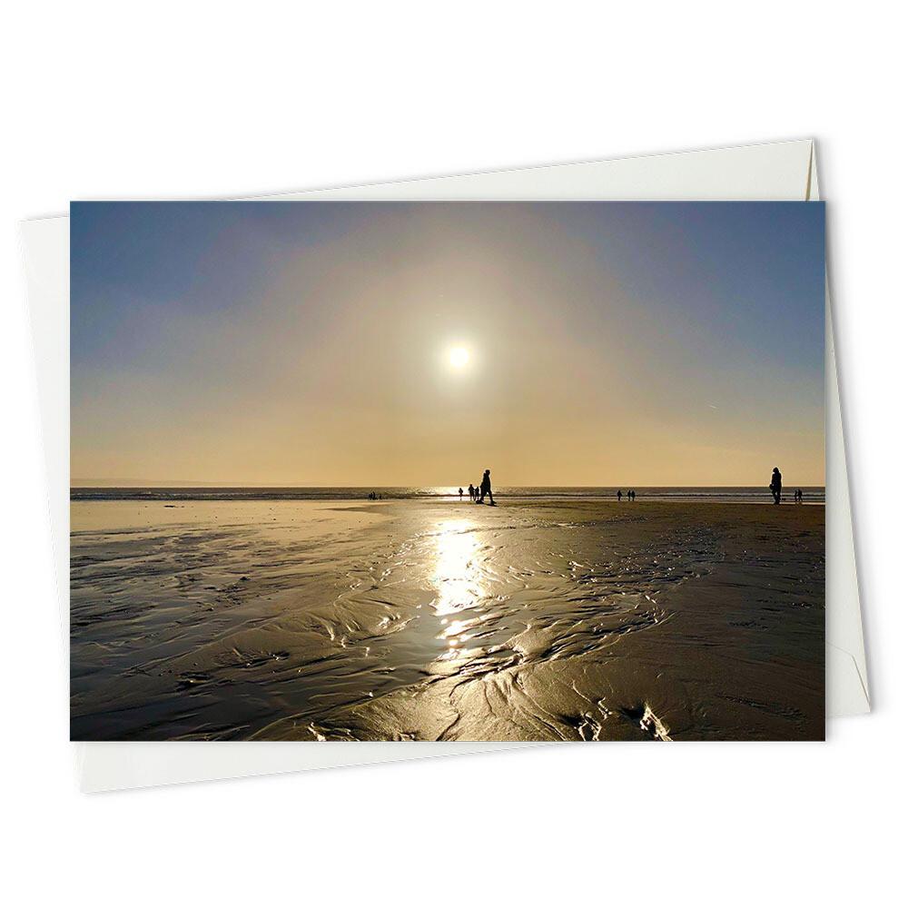 Sundown on Southerndown beach