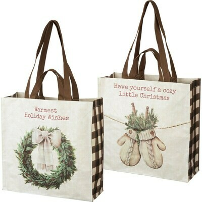 Market Tote Bag Double Sided