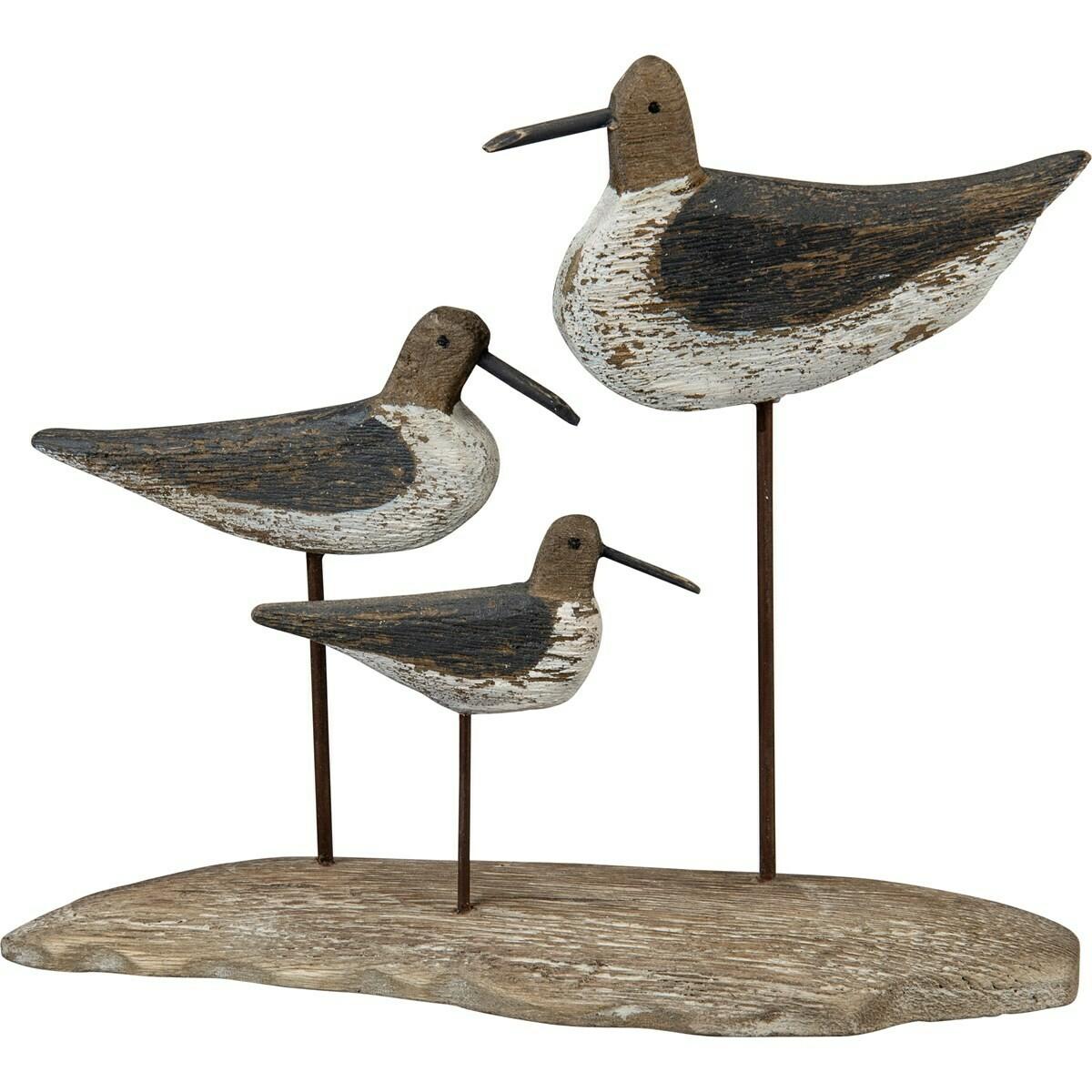 Trio Seabird Decor