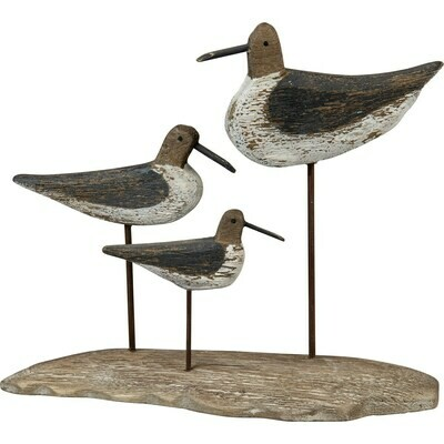 Trio Seabird Decor
