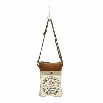 Sailing Anchor Cross Body Bag