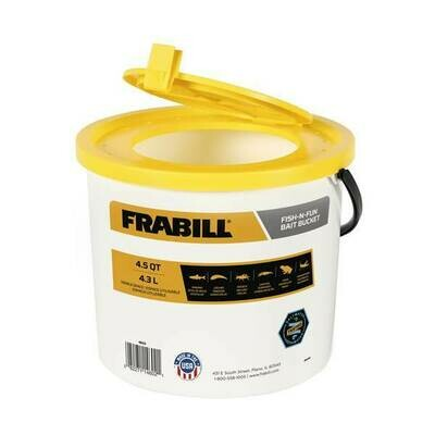 Frabill 4.5 Qt Fish-N-Fun Bait Minnow Bucket