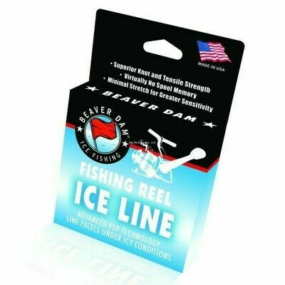 Beaver Dam Fishing Reel Ice Line, 125 yds. 4LB