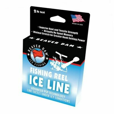 Beaver Dam Fishing Reel Ice Line, 125 yds. 2LB