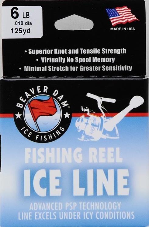 Beaver Dam Fishing Reel Ice Line, 125 yds. 6LB