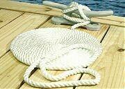 Seachoice White Braided Dock Line 1/2