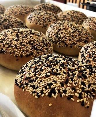 Sesame Seed Brioche Bun