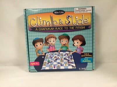 Chanukah Climb & Slide Game